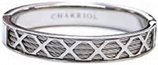 Charriol New Forever Young Bracelet Bangle Silver Small Unisex Jewelry