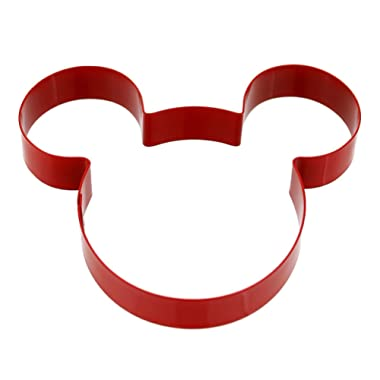 Disney Parks Exclusive Mickey Mouse Icon Cookie Cutter