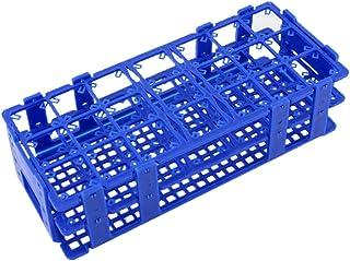 Test tube Rack - TOOGOO(R) Blue Plastic 21 Holes Box Rack Holder for 50ML Centrifuge Tubes