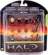 Halo Reach McFarlane Toys Series 4 Armor Pack Air Assault Armor 3 Sets of RUS...