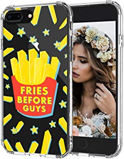 MOSNOVO iPhone 8 Plus Case, iPhone 7 Plus Case, Fries Before Guys Clear Design Printed Transparent Hard Back Case with TPU Bumper Protective Case Cover for iPhone 7 Plus/iPhone 8 Plus