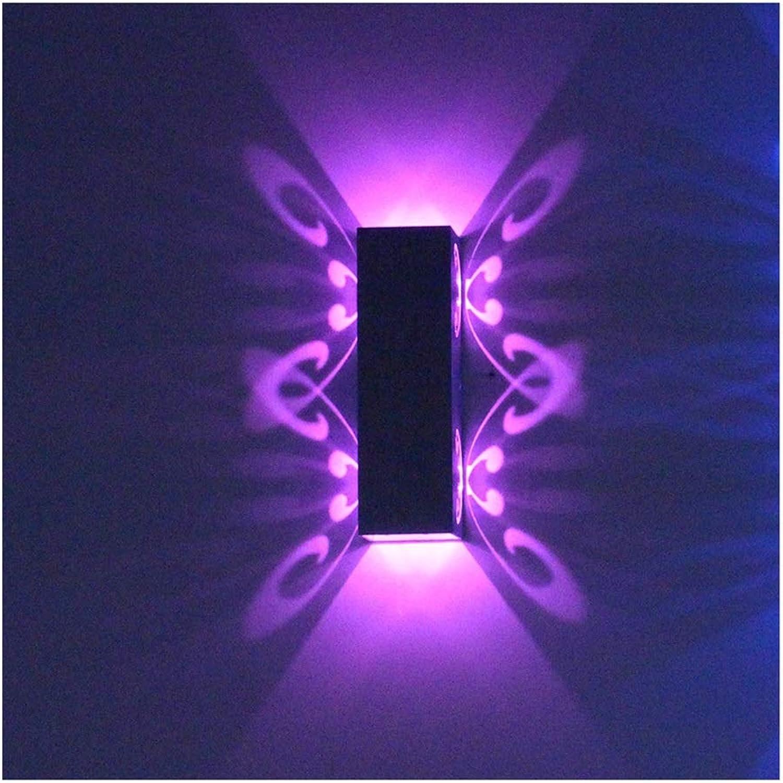 Wandleuchte Moderne Aluminium LED Schlafzimmer Wohnzimmer Wand Korridor Farbe Wandleuchte (Farbe   7)