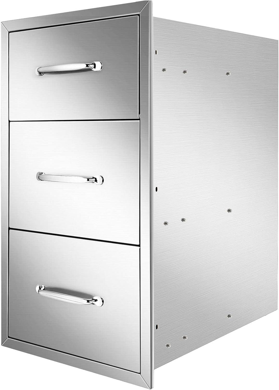 Ryan Outdoor Kitchen 2021 model Drawers 16x21.5x18 Dra Inch Long-awaited