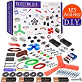 Kit4Curious 125 Projects DIY Activity Science Electronics Starter Mega Kit with User Guide