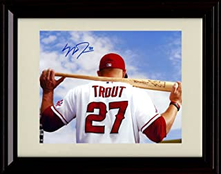 mike trout signature