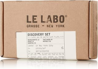 Le Labo Discovery Set Santal 33, Rose 31, Bergamote 22, Neroli 36 & The Noir 29 Sampler - .05 oz. Each