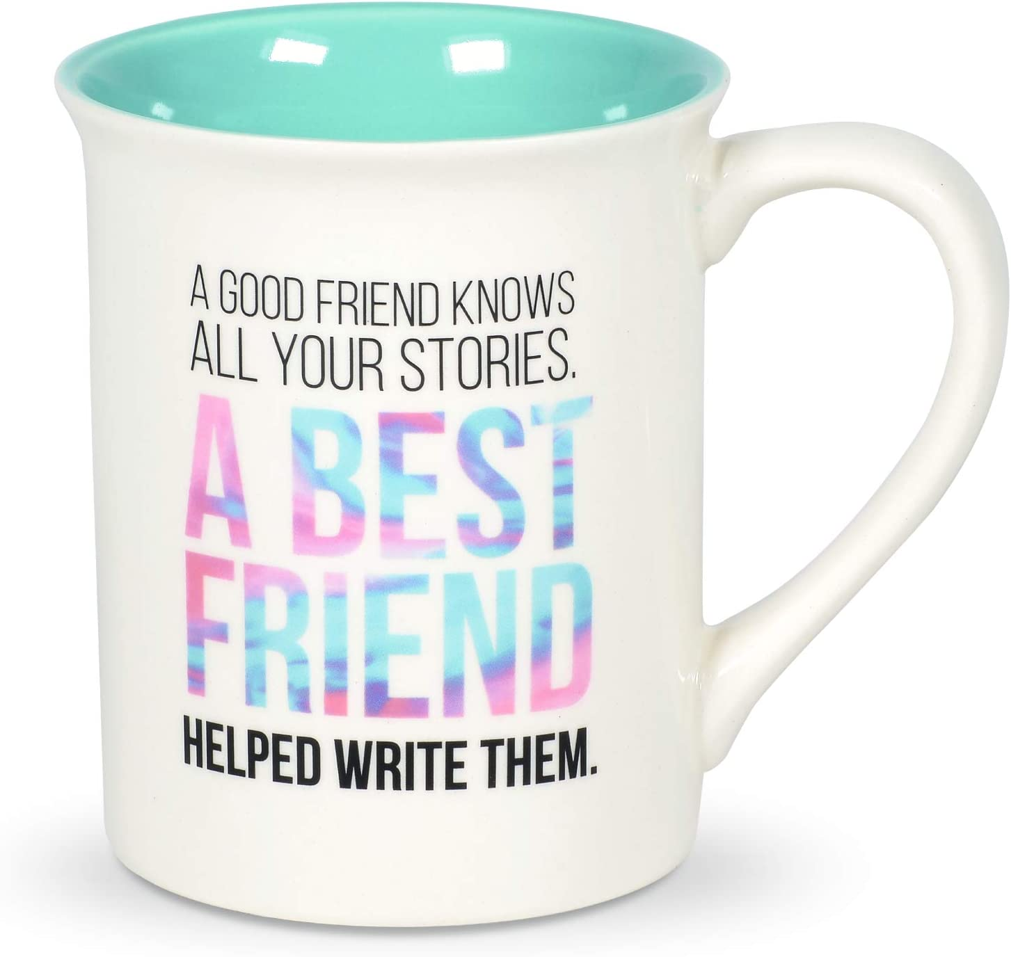 Enesco Our Name is Mud Friendship Old and Senile Coffee Mug 16 Ounce