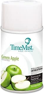 ZEP 1042694 Metered Fragrance Dispenser Refills, Green Apple 6.6 oz, 12/Carton