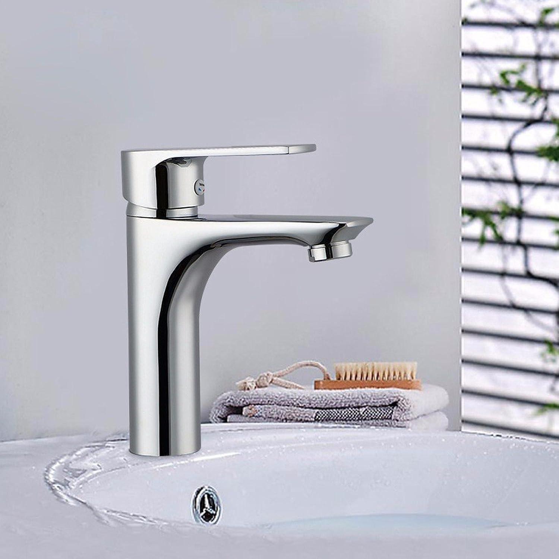 LHbox Die Wasserhhne, voll Kupfer Basis für Das Mischen von heiem und kaltem Wasser Armaturen, die Wasserhhne auf der Konsole