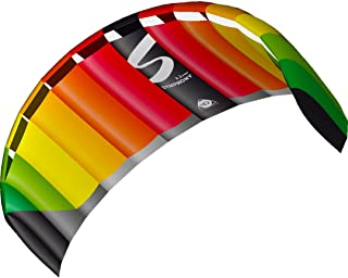 HQ Kites Symphony Pro 2.5 Stunt Kite 98 Inch Dual - Line Sport Kite, Color: Rainbow - Active Outdoor Fun for Ages 14 and Up