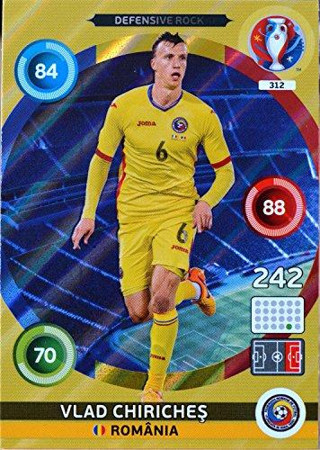 carte PANINI EURO 2016 #312 Vlad Chiriches