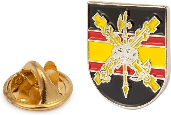 Gemelolandia   Pin de Solapa Escudo de la Hermandad de la Legión   Pines Originales Para Regalar   Para las Camisas, la Ropa o para tu Mochila   ...