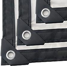 F-S-B Transparant Dekzeil Outdoor Dikker PE Polyethyleen Winddichte Koude Bescherming Isolatie Kunststof Doek - 120g/m2