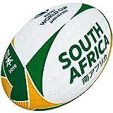 Gilbert Unisexe Coupe du Monde de Rugby Japon 2019Boule de Supporter de l'Afrique du Sud, Multicolore, 5