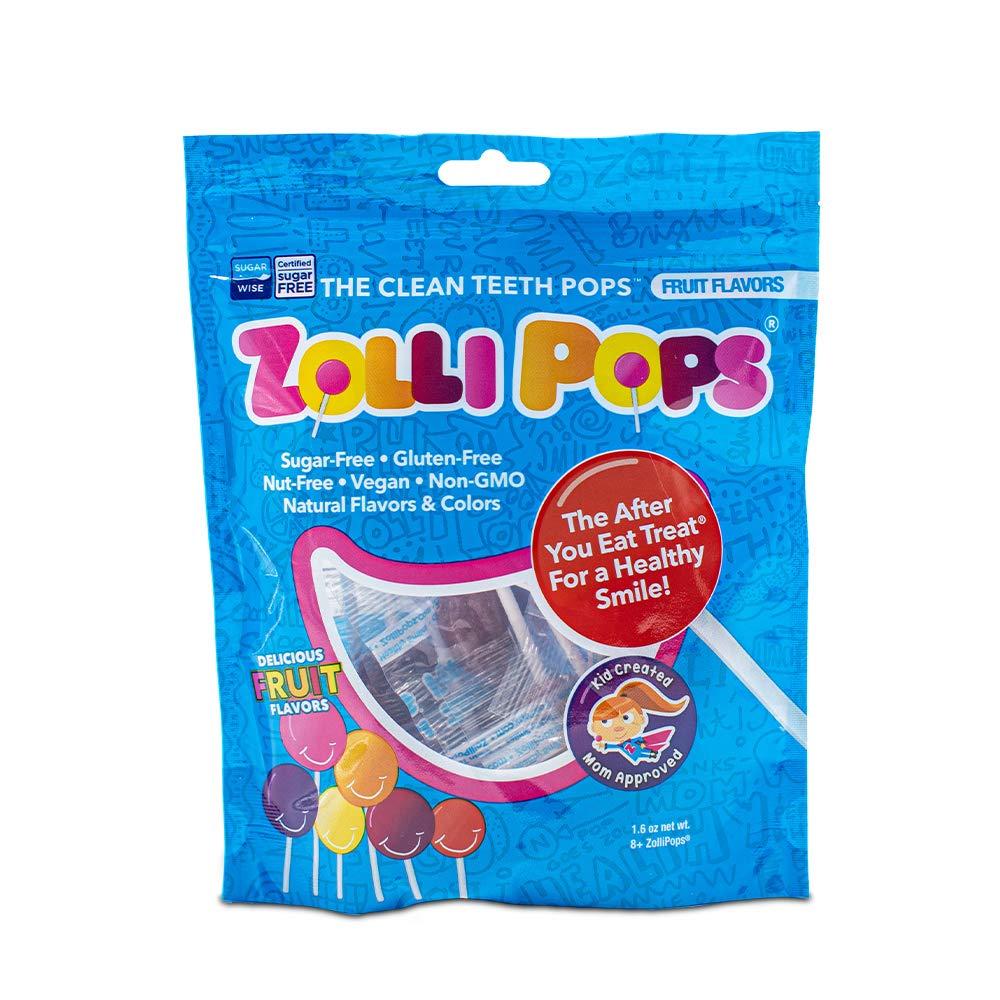 Zollipops Clean Teeth free Lollipops Anti Free OFFicial w Cavity Sugar Candy