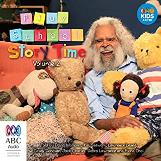 Play School Story Time: Volume 2                   By:                                                                                                                                 Various                               Narrated by:                                                                                                                                 Various                      Length: 43 mins     1 rating     Overall 5.0
