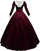 I-Youth Womens Gothic Victorian Dress Costume Medieval Civil War Ball Gowns