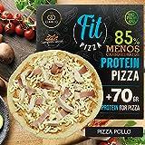 Fit Pizza Proteinada y Baja en Carbohidratos SiempreTierno By Cia&Co · +70 grs de Proteina por Pizza · -85% de Carbohidratos · Ideal dietas Hipocalóricas y Altas en Proteínas KETO