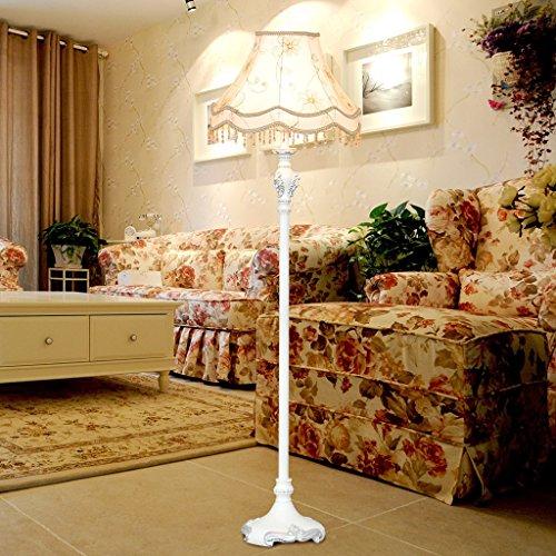 Edgeto Staande lamp Classic Europese LED staande lamp slaapkamer Amerikaanse vloerlamp