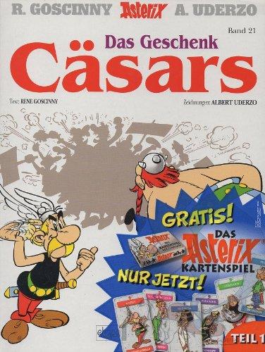 Asterix - Das Geschenk Cäsars - Band Nr. 21 - Mit dem Extra