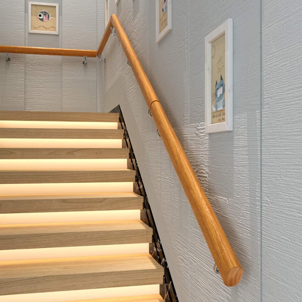 AIDELAI Pasamanos de Escalera de Madera, contra la Pared Loft Interior Barandillas para Ancianos Pasamanos Pasillo Pasamanos Antideslizante Sin barreras (Size : 30cm): Amazon.es: Hogar