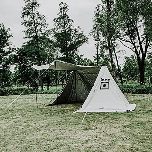 「コットンテント」で快適夏キャンプ!《ソロ&ファミリー》おすすめ15選