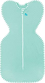 Love To Dream Swaddle UP Lite, Ice Green Polka Dot, Small, 8-13 lbs, Allow Baby to Sleep in Their Preferred arms up Position for self-Soothing, snug fit Calms Startle Reflex
