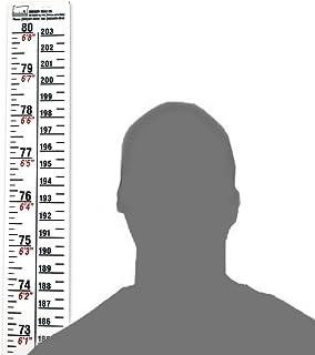قانون ارتفاع - کسری / متریک - 80 اینچ / 203 سانتیمتر طولانی - سفید