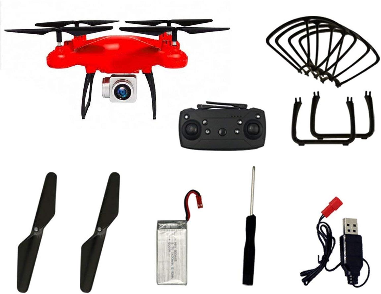 Corneliaa GW26 RC Drohne 1080P HD Kamera 4CH Langzeitfliegen Hhenstand Quadcopter