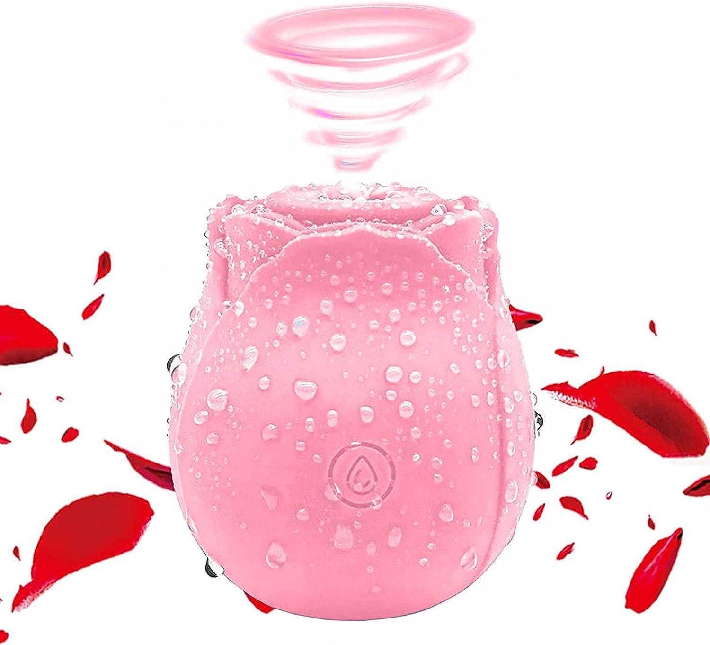 Dedication Sucking Vibrator for Award Rose Pink Women