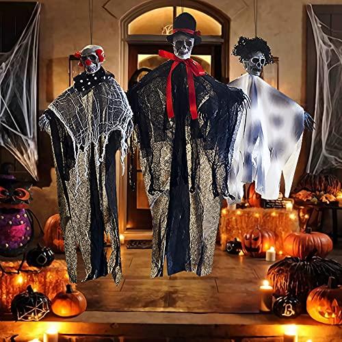 TGOOD Halloween Decorations Clearance Halloween Decor 3...