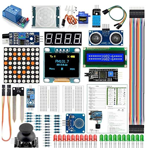 UNO R3 Mega2560 Module Sensor Kit Project Most Complete Starter Kit Electronic Components Set Basic Starter Kit
