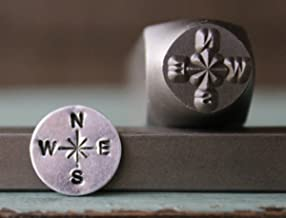Brand New Supply Guy 10mm Compass Metal Punch Design Stamp CH-115