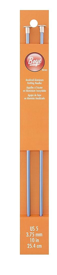 Boye 3216327005 Single Point Aluminum Knitting Needles 10