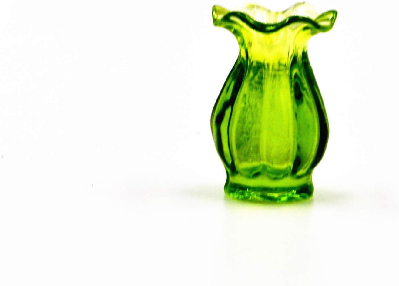 Togudot Dollhouse Miniature Vase Model Mini Simulation Glass Ornaments Decoration Accessories