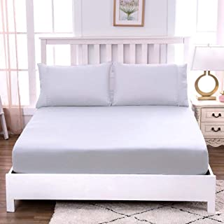 PetKids Drap Housse 100% Coton Tissu Doux et Extensible Housse Ajustable Résistant aux Plis pour Un lit- 12 Couleurs Dispo...
