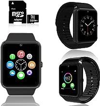 indigi 2019 Sleek GT8 2-in-1 Fitness SmartWatch & Phone + 32gb microSD Included