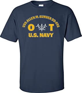 USS Allen M. Sumner DD-692 Rate OT Ocean Systems Technician