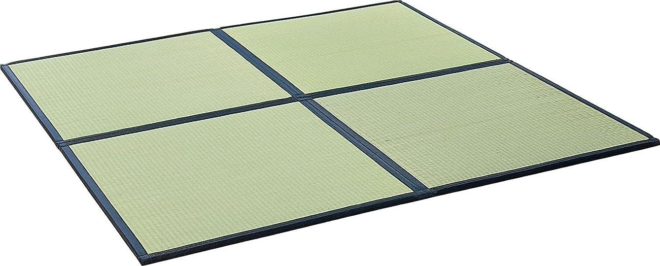 スイジャベスウィルソン経営者大島屋 ユニット畳 藺 い草 フロアー畳 国産 8層 ナチュラル 約85×85×2cm
