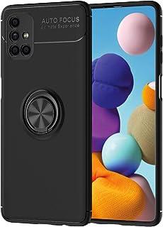 حافظة FanTing لهاتف Samsung Galaxy M51 ، قوس دائري قابل للتعديل 360 درجة ، متوافق مع حامل سيارة مغناطيسي ، غطاء مقاوم للزل...