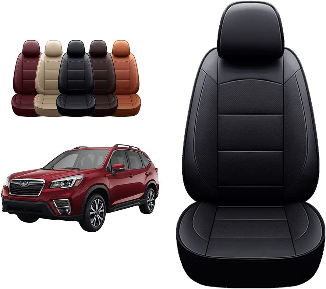 OASIS Max 86% OFF security AUTO 2009-2022 Forester Custom Leather Seat Covers 20 Fit