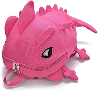 Factory Outlet Kids New Creative Women Men 3D Animal Backpack Dinosaur Shape Primary Cartoon School Bags Teenager Book Schoolbag Zhaozb (Color : Pink)