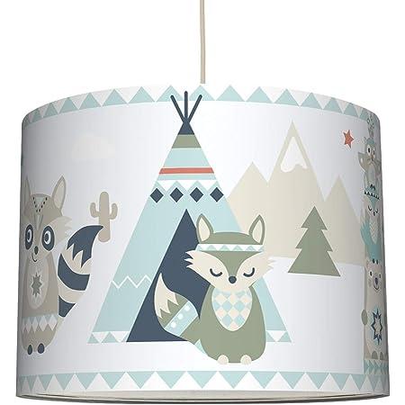 Jungen Hänge Decken Lampe Mädchen Spiel Kinder Zimmer Lampe Tier Motive bunt