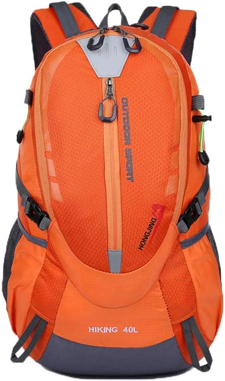 YX Reiserucksack Einfach 50 L Trekkingrucksack Männer Groß Tagesrucksack Wasserdicht Sport Mode Rucksack Nylon Wanderrucksack B07L75LHLS  Sehr gute Farbe