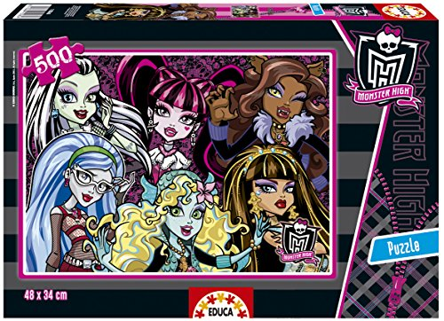 Educa Borrás 15265 - 500 Monster High