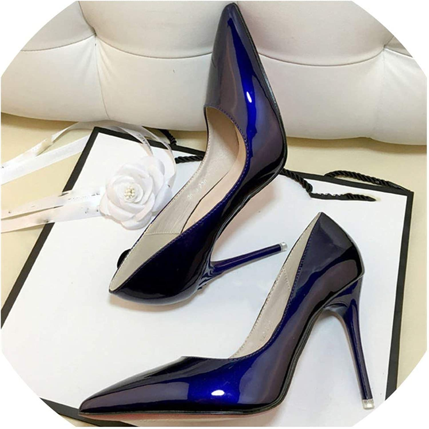Ladies shoes High Heels Patent Leather Classic Pumps Wedding Women shoes
