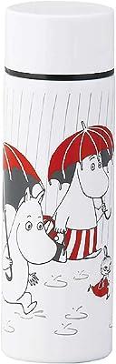 山加商店 「 MOOMIN (ムーミン) 」 真空ボトル 水筒 ミニ 約140ml Rain MM4402-854 ホワイト