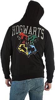 Bioworld Harry Potter House Shield Mens Zip-up Hoodie