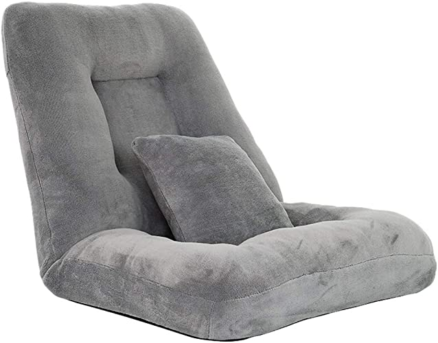 MSNDIAN Canapé Paresseux Pliable Chambre Simple lit Chaise paresseuse Chambre Ordinateur Chaise Baie Baie Chaise Chaise Pliante Simple
