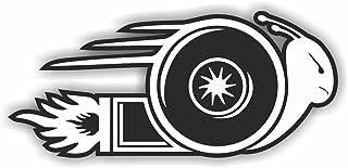 folien zentrum Turboschnecke Turbo Schnecke Shocker Hand Auto Aufkleber JDM Tuning OEM Dub Decal Stickerbomb Bombing Fun w